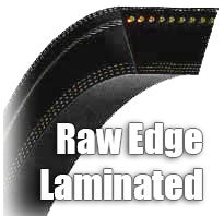 Raw Edge Laminated